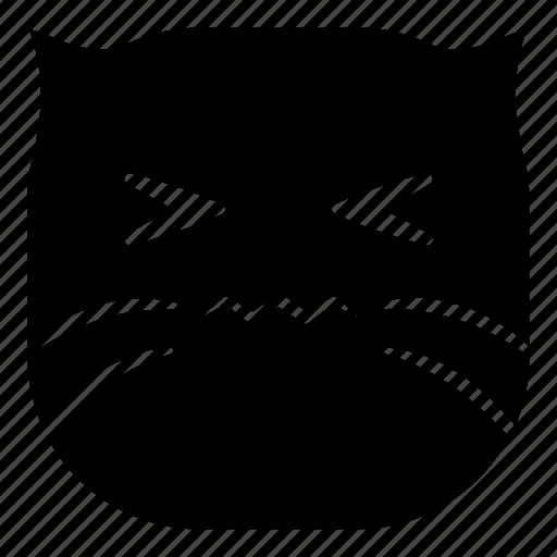 cat, gross, hurt, pet, sick icon