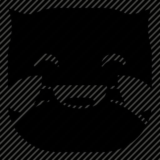 cat, drop, laugh, lol, pet icon