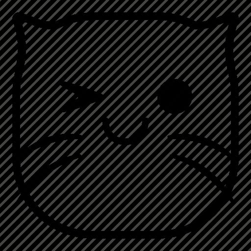 cat, okay, pet icon