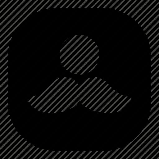 cyclops, emoji, emoticon, mustache, smiley icon