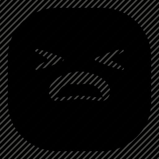 disappointed, emoji, emoticon, sad, smiley icon