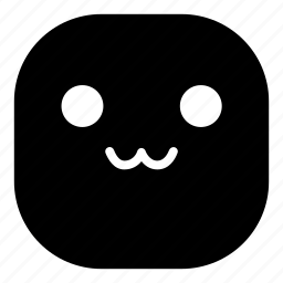 cat mouth, emoji, emoticon, smiley, uwu icon