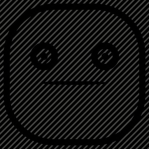 confused, emoji, emoticon, smiley, surprised icon