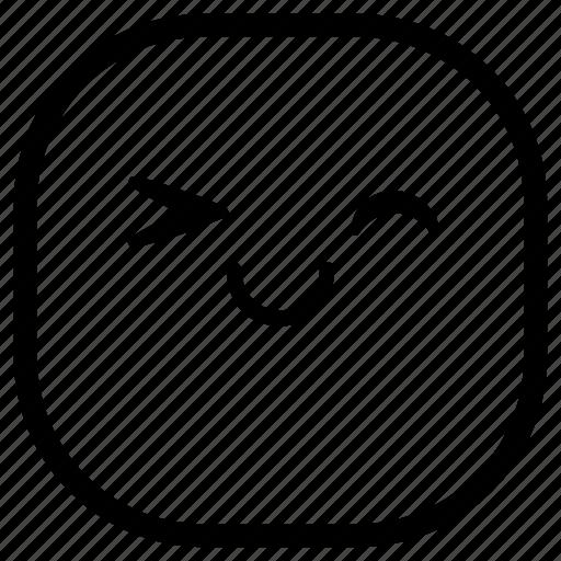 emoji, emoticon, happy, okay, smiley icon