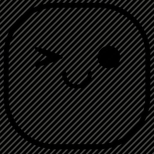emoji, emoticon, okay, smiley icon