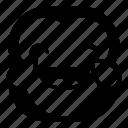 chimp, chimpanse, drops, laugh, monkey icon