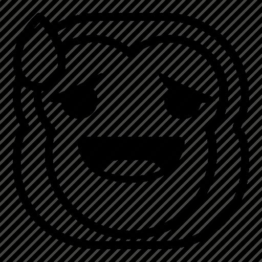 chimp, chimpanse, drop, monkey, surprised icon