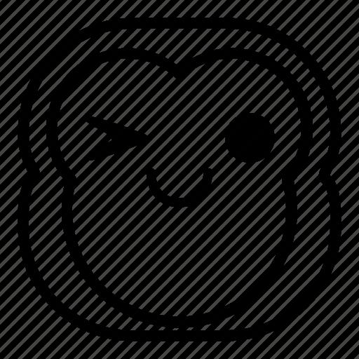chimp, chimpanse, monkey, okay icon