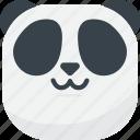 asian, cat mouth, emoji, emoticon, panda, smiley, uwu icon