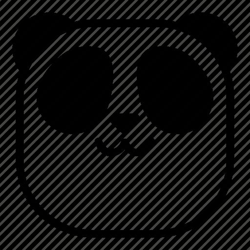 animal, asian, cat mouth, panda, uwu icon
