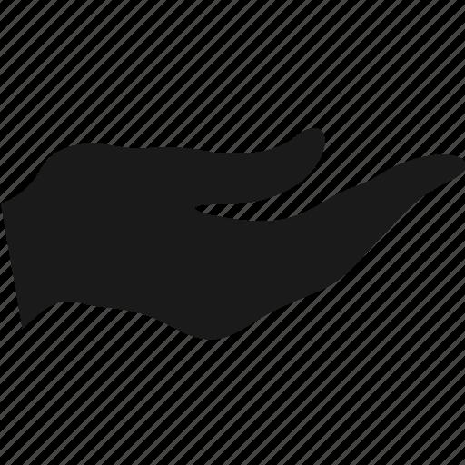 finger, gesture, hand, palm, pointer icon