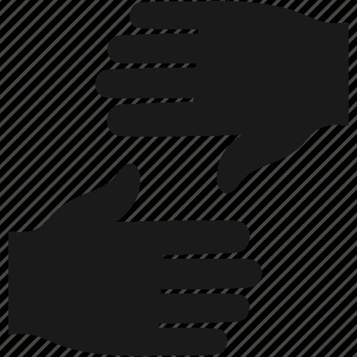 finger, gesture, hand, pointer icon