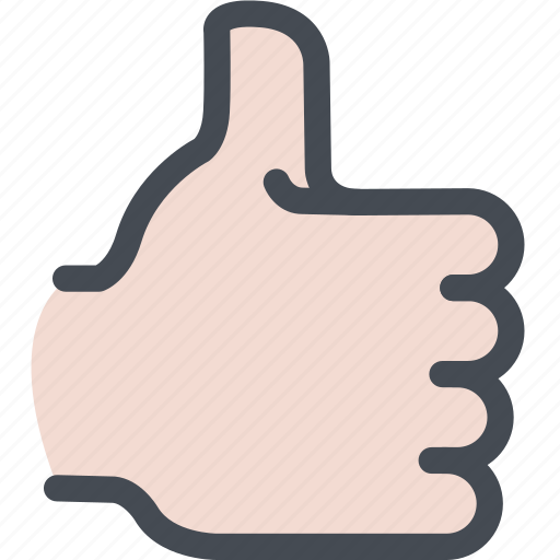 awesome, good, hand, like, thumbs up icon