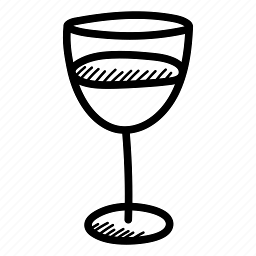 alcohol, bottle, cheers, drinks, hand drawn, vine, wine bottle icon