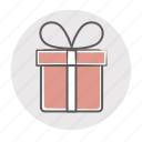 birthday, bonus, charity, contest, gift, giftbox, giveaway, present, prize, reward, sponsor icon