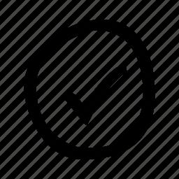 accept, check, circle, mark, ok, tick, yes icon