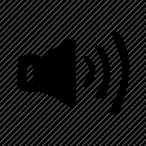 audio, higher volume, increase volume, speaker, volume, volume up icon