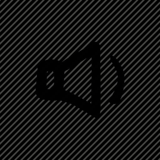 audio, decrease volume, lower volume, speaker, volume, volume down icon