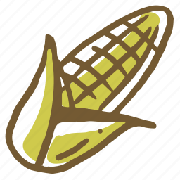 cooking, corn, food, healthy, kitchen, meal, restaurant icon