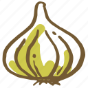 cooking, garlic, kitchen, onion, restaurant, vegetable, vegetables icon