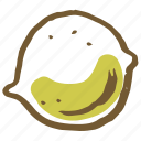 citrus, food, juice, kitchen, lemon, lime, vegetable icon