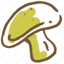 food, healthy, mushroom, plant, restaurant, vegetable, vegetables icon