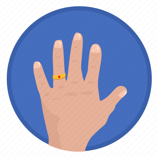 fingers, gesture, hand, married icon