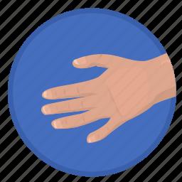gesture, hand, handshake, hello, man icon