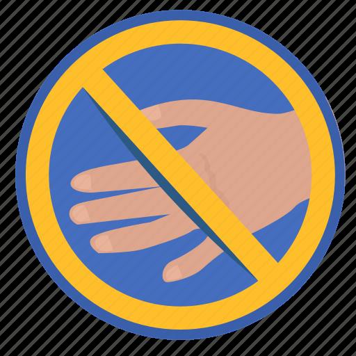 cancel, gesture, handshake, rule icon