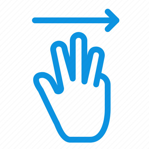 cursor, hand, right, up icon