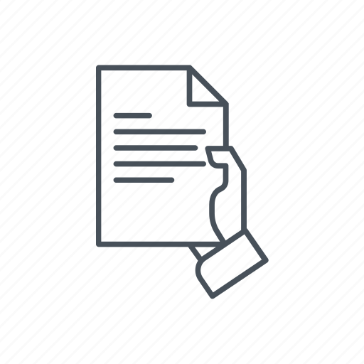 documents set, file, hand, paper, show, showing, text icon