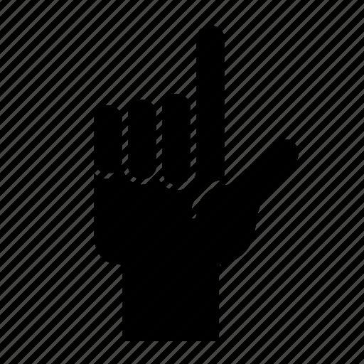 Finger, gesture, hand, hand gesture, interaction, point icon - Download on Iconfinder
