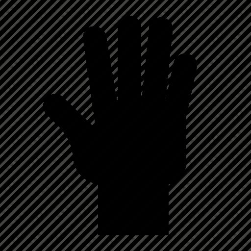finger, five, gesture, hand, hand gesture, interaction icon