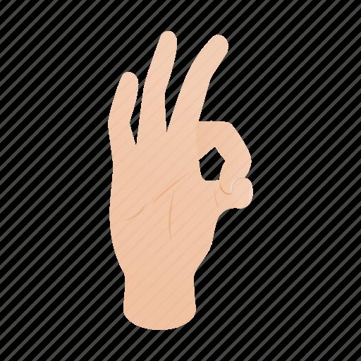 arm, finger, gesture, hand, isometric, ok, success icon