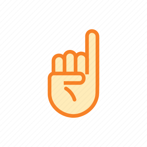 finger, fingers, hand, pee, permission, sign icon
