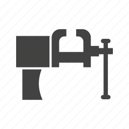grip, metal, object, pressure, squeeze, tool, vice icon