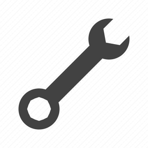 adjustable, metal, object, pipe, spanner, tool, wrench icon