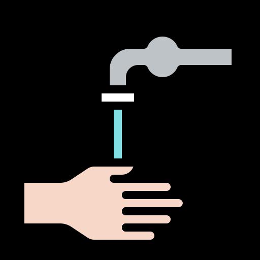 clean, coronavirus, hand, handwashing, hygiene, tap, wash icon
