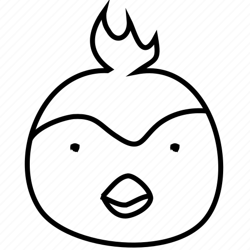 avatar, bird, emotion, parrot icon