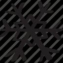cold, frozen, hail, snow, snowflake, snowstorm, temperature icon