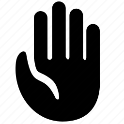 free, hand, hello, partnership icon
