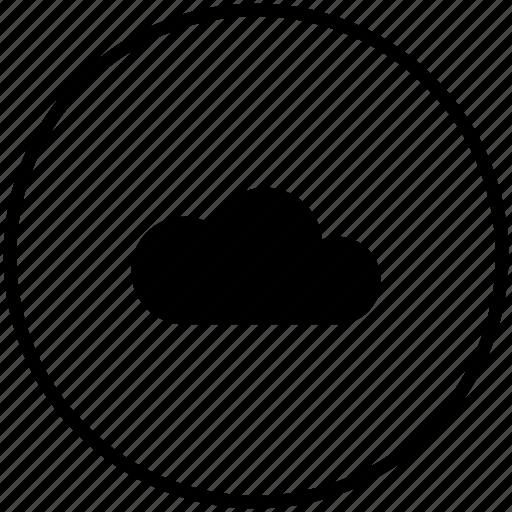 cloud, storage, technology, web icon