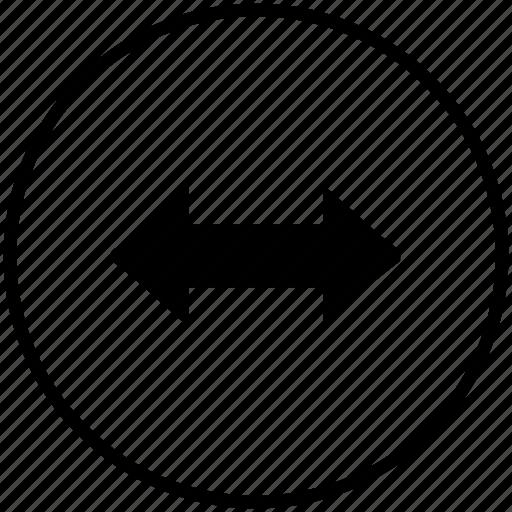 browser, cursor, element, horizontal, motion icon