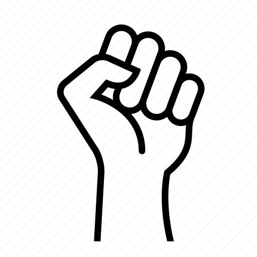 Fight, fist, hand, power, strong icon | Icon search engine
