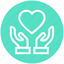 care, giving, hands support, healthcare, heart, safe, support