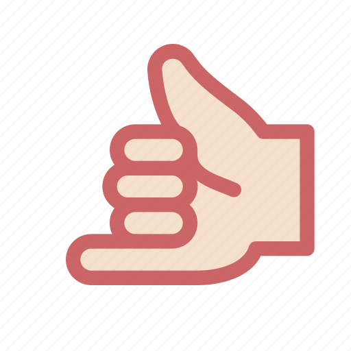 call, finger, gesture, hand, hint, pinkie, thumb icon