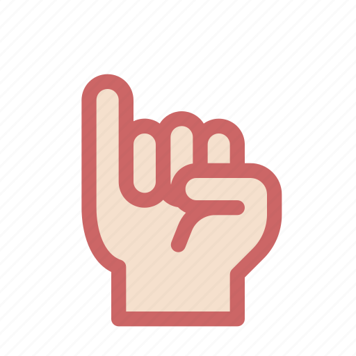 finger, gesture, hand, one, pinkie, promise icon
