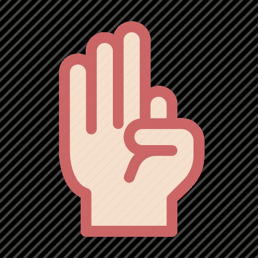 finger, gesture, hand, kaneki, ok, three icon
