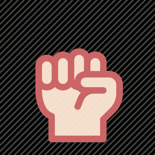 finger, fist, gesture, grip, hand, hold, zero icon