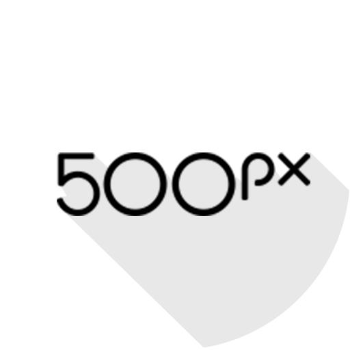 500px, circle, material icon